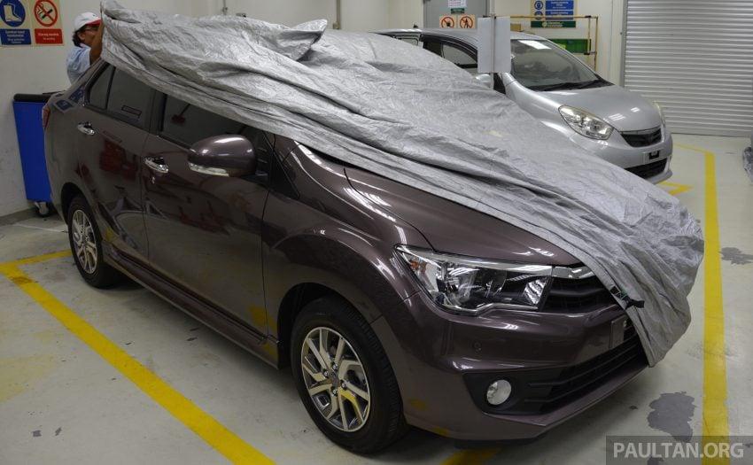 PANDU UJI: Perodua Bezza 1.0L dan 1.3L Dual VVT-i baharu – percaturan pertama P2 bagi model sedan Image #518306