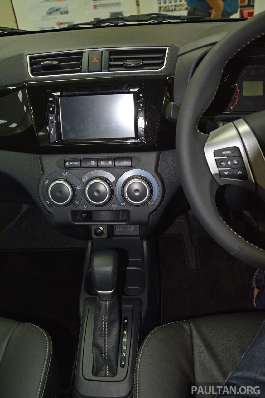 PANDU UJI: Perodua Bezza 1.0L dan 1.3L Dual VVT-i baharu – percaturan pertama P2 bagi model sedan Image #518350
