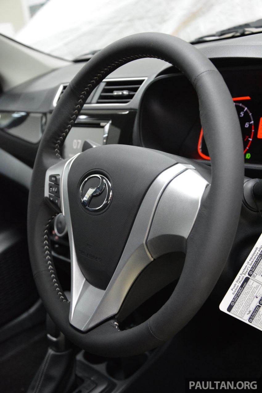 PANDU UJI: Perodua Bezza 1.0L dan 1.3L Dual VVT-i baharu – percaturan pertama P2 bagi model sedan Image #518378