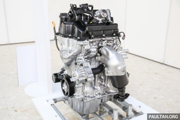 Perodua Bezza engines 1