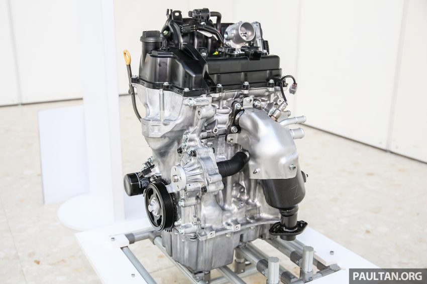 Perodua Bezza engines – 1.0 litre 1KR-VE VVT-i, new 1.3 litre 1NR-VE Dual VVT-i, updated 4-speed auto Image #519745