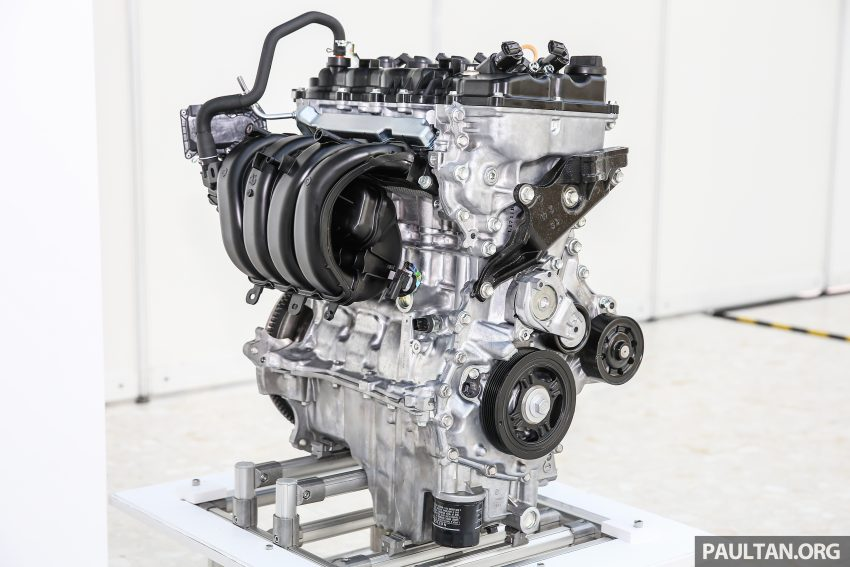 Perodua Bezza engines – 1.0 litre 1KR-VE VVT-i, new 1.3 litre 1NR-VE Dual VVT-i, updated 4-speed auto Image #519755