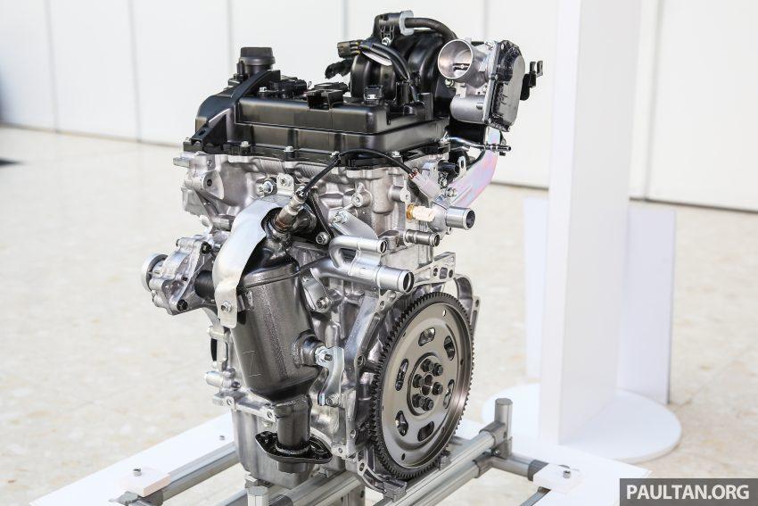Perodua Bezza – Perincian enjin 1.0L VVT-i, 1.3L Dual VVT-i, transmisi automatik 4-kelajuan dikemaskini Image #519815