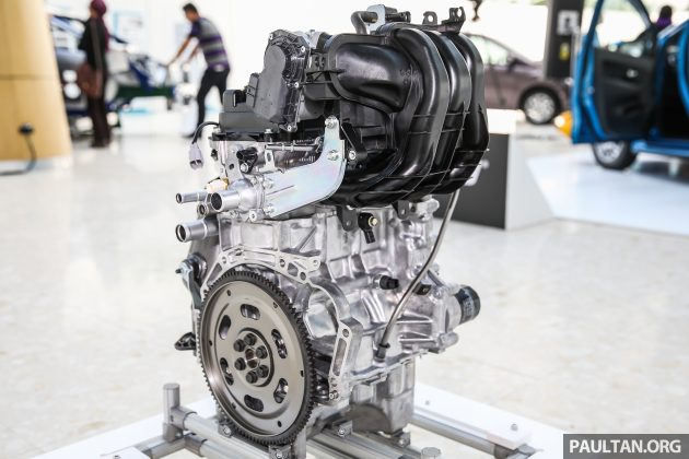 perodua new release carPerodua Bezza engines  10 litre 1KRVE VVTi new 13 litre 1NR