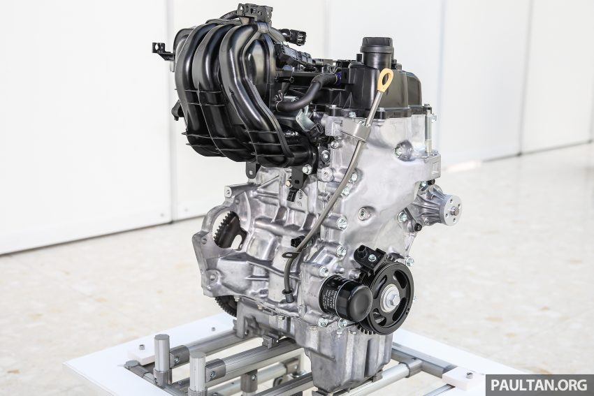 Perodua Bezza engines – 1.0 litre 1KR-VE VVT-i, new 1.3 litre 1NR-VE Dual VVT-i, updated 4-speed auto Image #519749