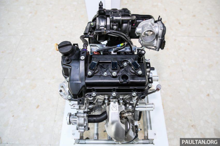 Perodua Bezza – Perincian enjin 1.0L VVT-i, 1.3L Dual VVT-i, transmisi automatik 4-kelajuan dikemaskini Image #519812