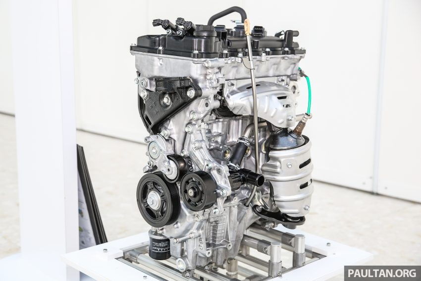 Perodua Bezza engines – 1.0 litre 1KR-VE VVT-i, new 1.3 litre 1NR-VE Dual VVT-i, updated 4-speed auto Image #519752