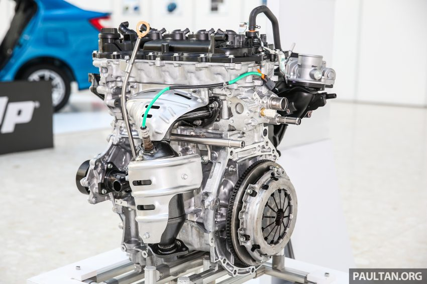 Perodua Bezza engines – 1.0 litre 1KR-VE VVT-i, new 1.3 litre 1NR-VE Dual VVT-i, updated 4-speed auto Image #519753
