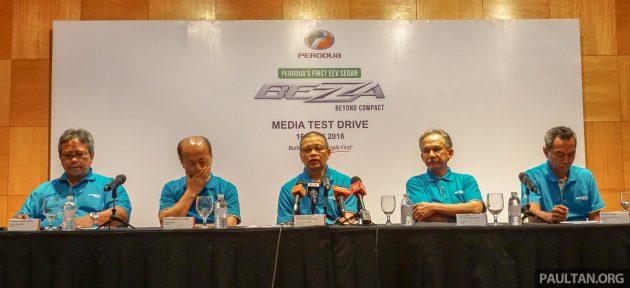 Perodua Bezza media preview