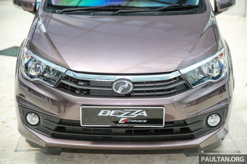 Perodua Bezza dilancarkan, enjin 1.0L VVT-i dan 1.3L Dual VVT-i, harga bermula dari RM37K hingga RM51K Image #522590