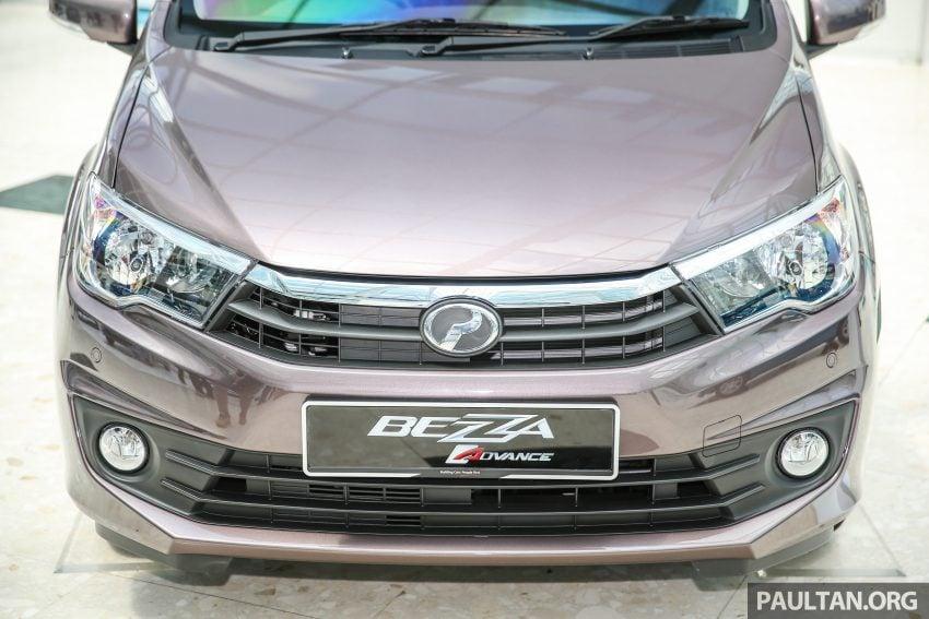 Perodua Bezza – senarai elemen varian demi varian Image #519842