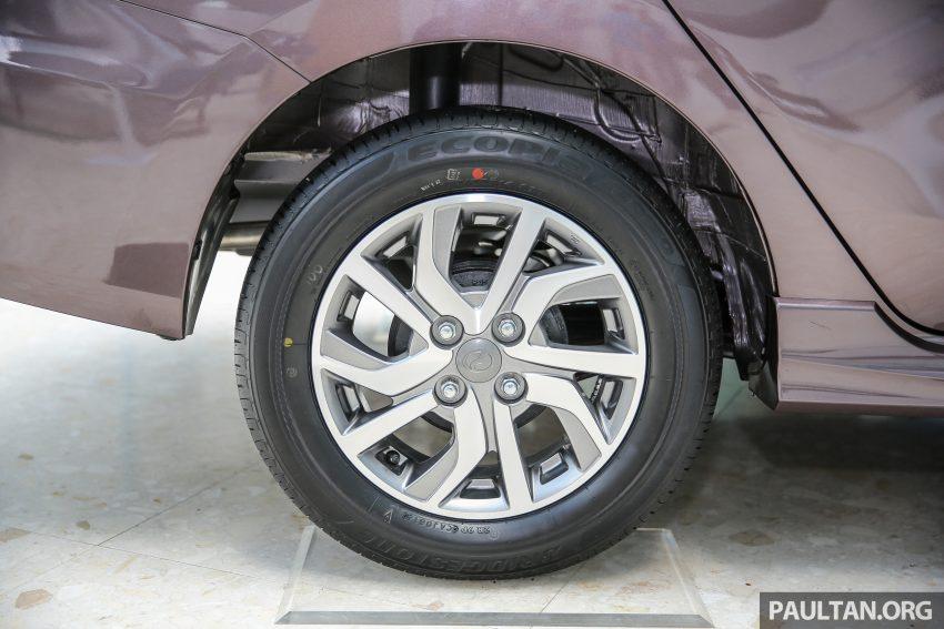 Perodua Bezza dilancarkan, enjin 1.0L VVT-i dan 1.3L Dual VVT-i, harga bermula dari RM37K hingga RM51K Image #522600
