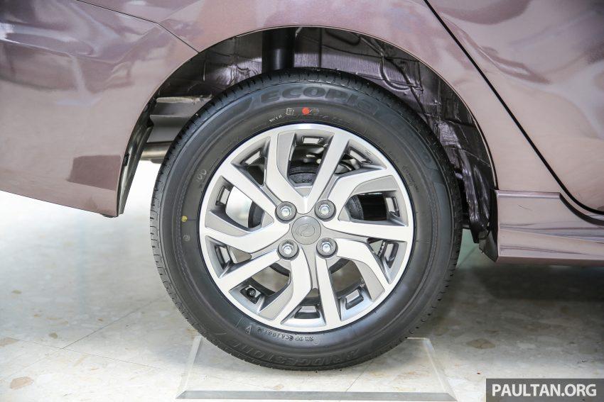 Perodua Bezza – senarai elemen varian demi varian Image #519853
