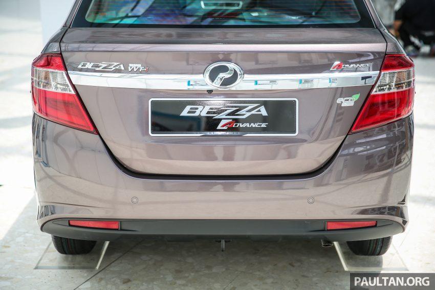 Perodua Bezza dilancarkan, enjin 1.0L VVT-i dan 1.3L Dual VVT-i, harga bermula dari RM37K hingga RM51K Image #522603