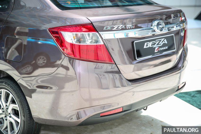 Perodua Bezza dilancarkan, enjin 1.0L VVT-i dan 1.3L Dual VVT-i, harga bermula dari RM37K hingga RM51K Image #522604