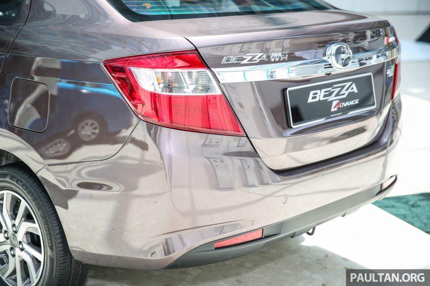 Perodua Bezza – senarai elemen varian demi varian Image #519857