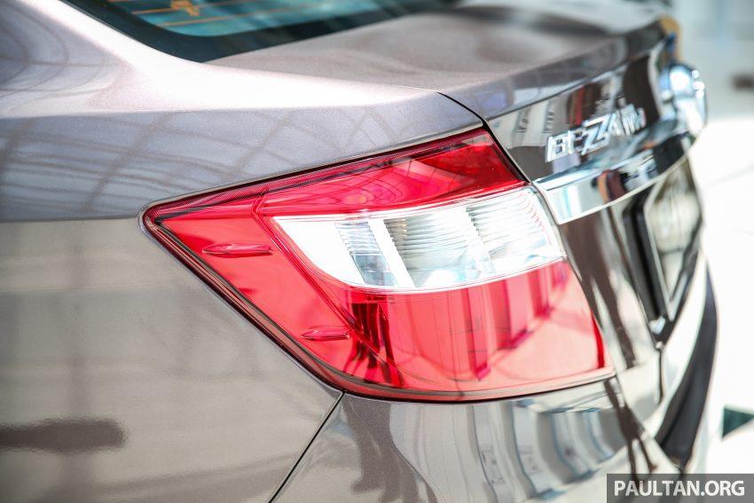 Perodua Bezza dilancarkan, enjin 1.0L VVT-i dan 1.3L Dual VVT-i, harga bermula dari RM37K hingga RM51K Image #522606