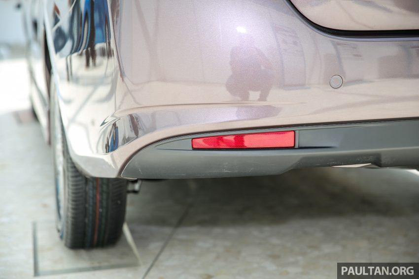 Perodua Bezza – senarai elemen varian demi varian Image #519860