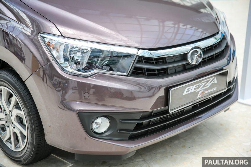 Perodua Bezza dilancarkan, enjin 1.0L VVT-i dan 1.3L Dual VVT-i, harga bermula dari RM37K hingga RM51K Image #522591