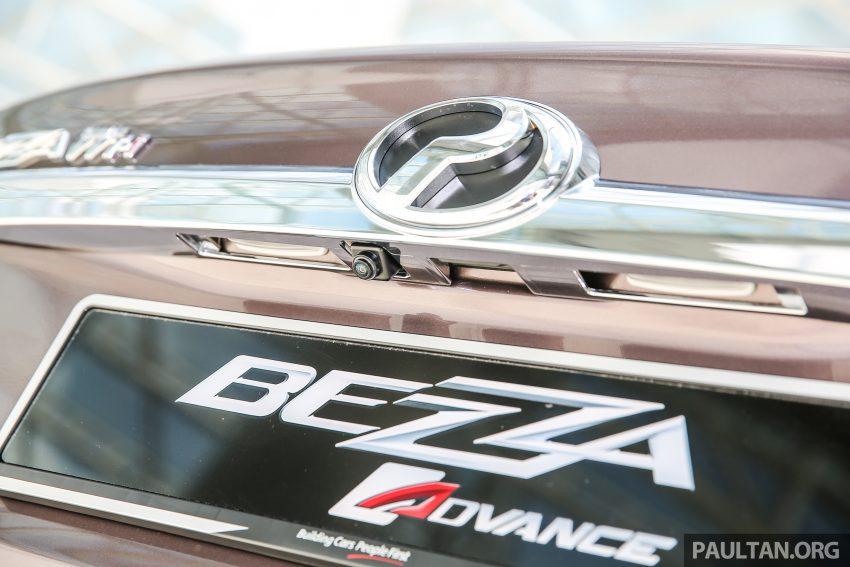 Perodua Bezza – senarai elemen varian demi varian Image #519863
