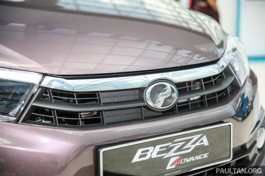 Perodua Bezza dilancarkan, enjin 1.0L VVT-i dan 1.3L Dual VVT-i, harga bermula dari RM37K hingga RM51K Image #522594