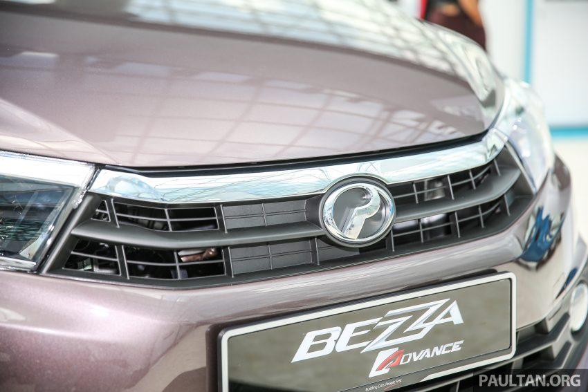 Perodua Bezza – senarai elemen varian demi varian Image #519846