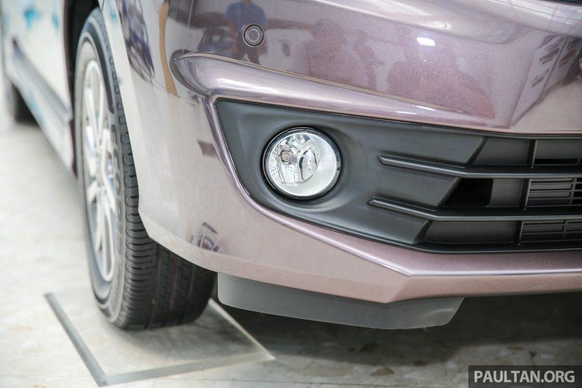 Perodua Bezza – senarai elemen varian demi varian Image #519847