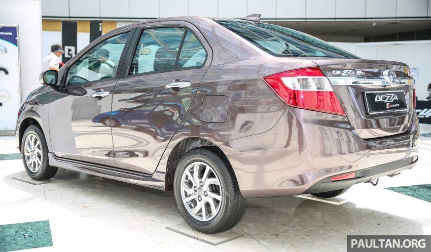 Perodua Bezza dilancarkan, enjin 1.0L VVT-i dan 1.3L Dual VVT-i, harga bermula dari RM37K hingga RM51K Image #522625