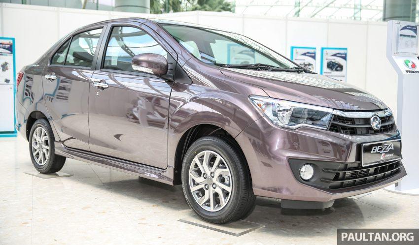 Perodua Bezza dilancarkan, enjin 1.0L VVT-i dan 1.3L Dual VVT-i, harga bermula dari RM37K hingga RM51K Image #522619