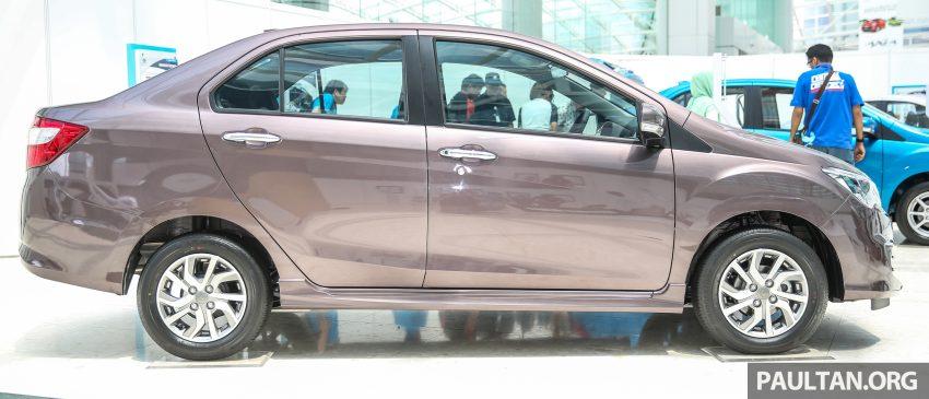 Perodua Bezza dilancarkan, enjin 1.0L VVT-i dan 1.3L Dual VVT-i, harga bermula dari RM37K hingga RM51K Image #522621