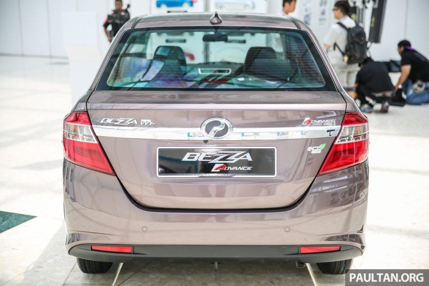 Perodua Bezza dilancarkan, enjin 1.0L VVT-i dan 1.3L Dual VVT-i, harga bermula dari RM37K hingga RM51K Image #522622