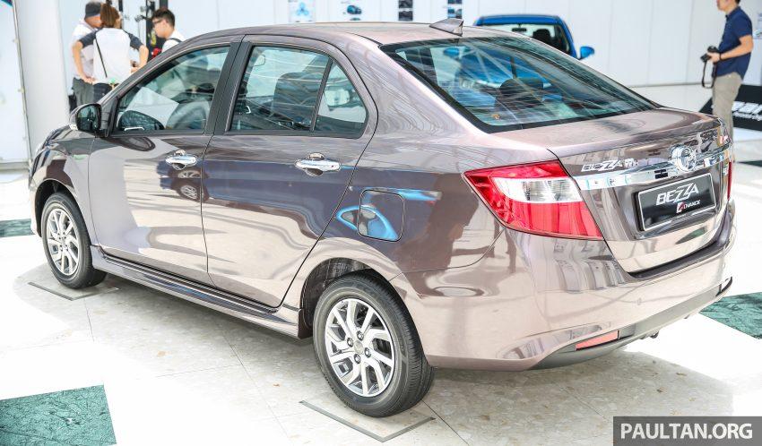 Perodua Bezza dilancarkan, enjin 1.0L VVT-i dan 1.3L Dual VVT-i, harga bermula dari RM37K hingga RM51K Image #522624