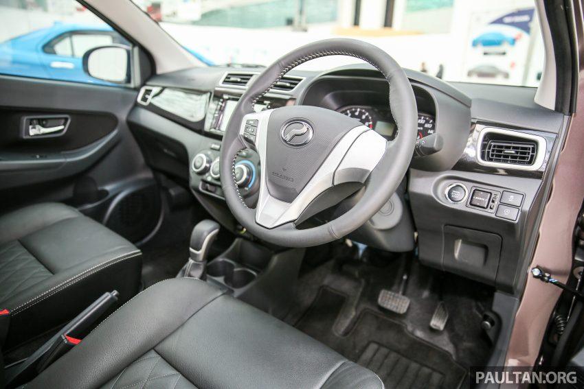 Perodua Bezza – senarai elemen varian demi varian Image #519869