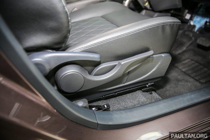 Perodua Bezza – senarai elemen varian demi varian Image #519882