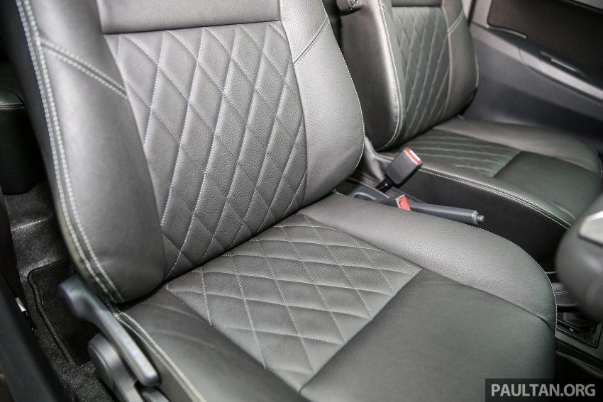 Perodua Bezza – senarai elemen varian demi varian Image #519891