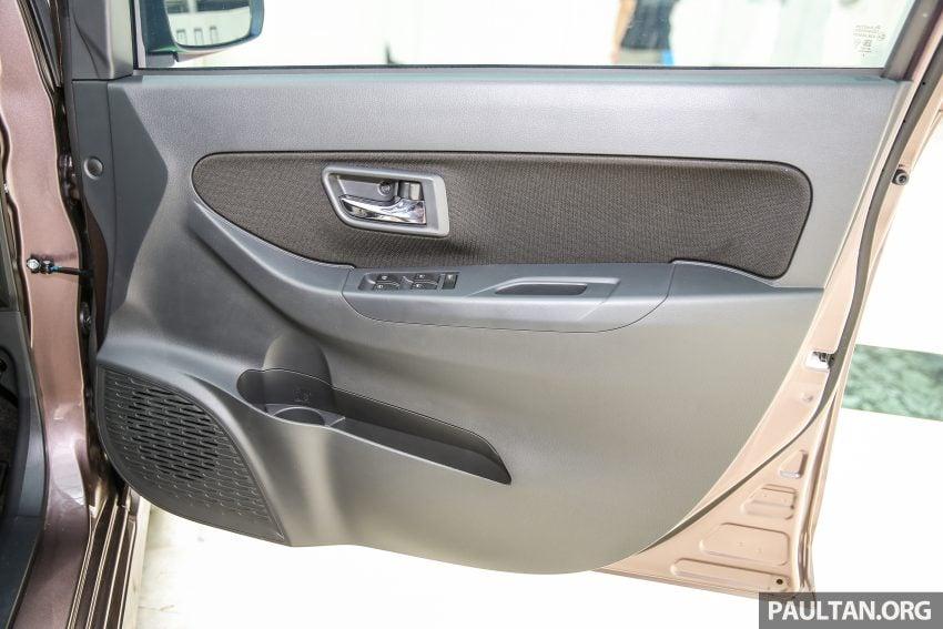 Perodua Bezza – senarai elemen varian demi varian Image #519893