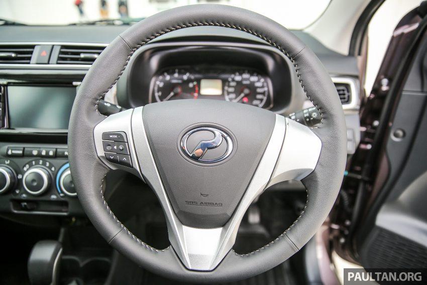 Perodua Bezza – senarai elemen varian demi varian Image #519870