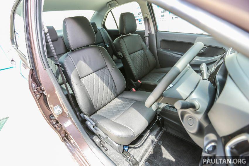 Perodua Bezza dilancarkan, enjin 1.0L VVT-i dan 1.3L Dual VVT-i, harga bermula dari RM37K hingga RM51K Image #522649