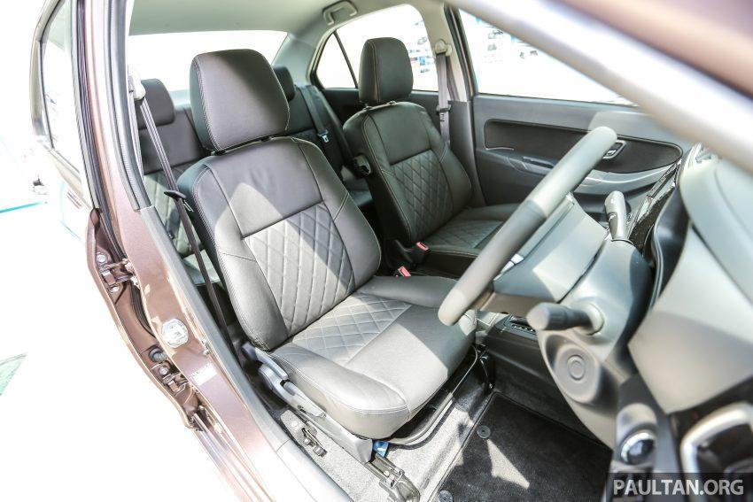 Perodua Bezza – senarai elemen varian demi varian Image #519914