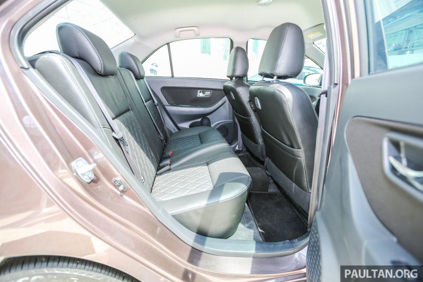 Perodua Bezza dilancarkan, enjin 1.0L VVT-i dan 1.3L Dual VVT-i, harga bermula dari RM37K hingga RM51K Image #522650