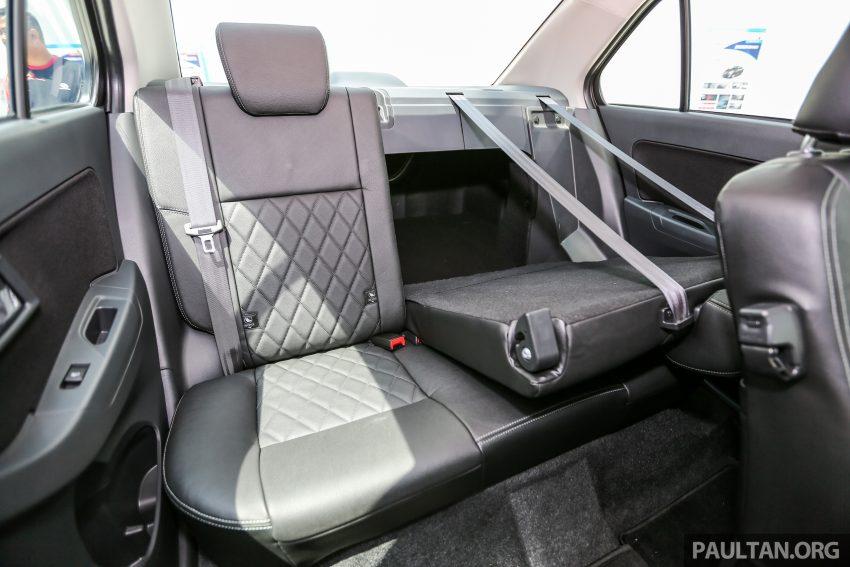 Perodua Bezza – senarai elemen varian demi varian Image #519920