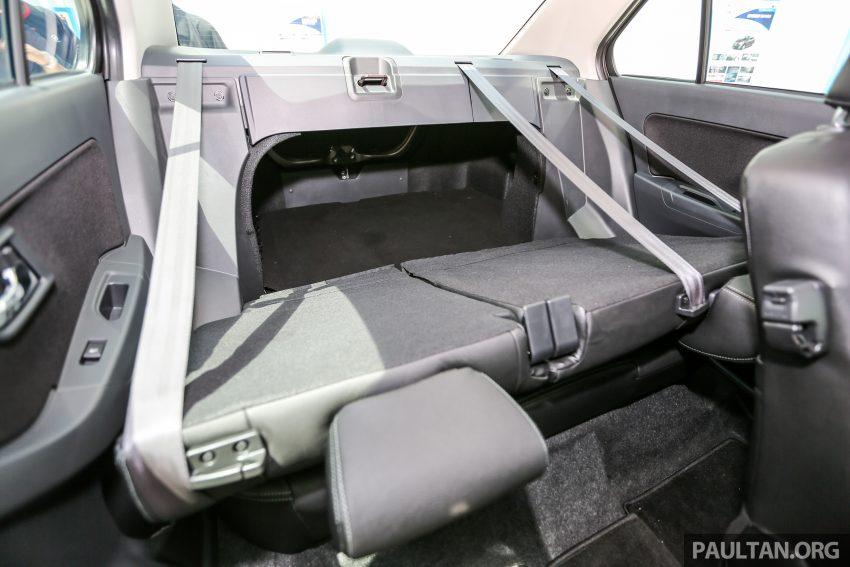 Perodua Bezza – senarai elemen varian demi varian Image #519922