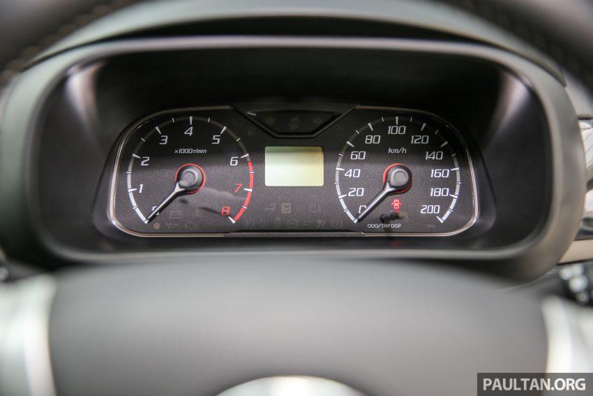 Perodua Bezza – senarai elemen varian demi varian Image #519872