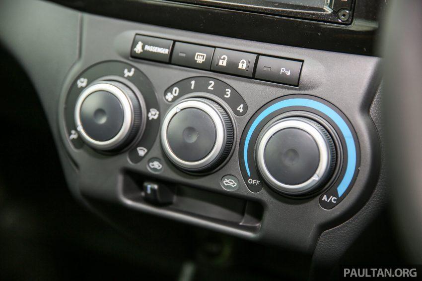 Perodua Bezza – senarai elemen varian demi varian Image #519876