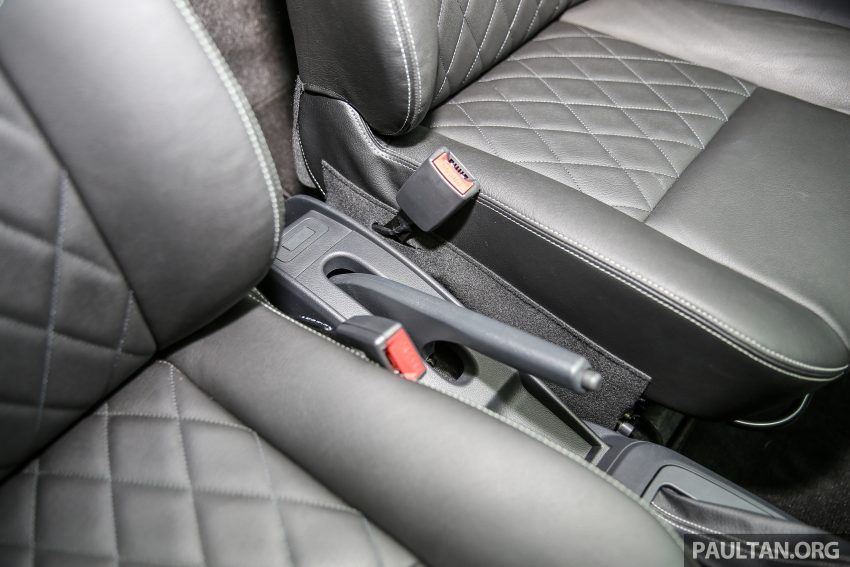 Perodua Bezza – senarai elemen varian demi varian Image #519879