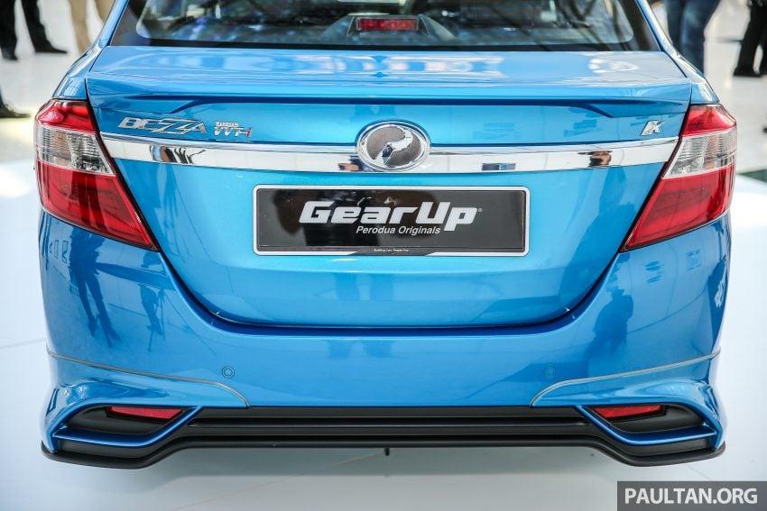 Perodua Bezza – GearUp bodykit and accessories Image #519644