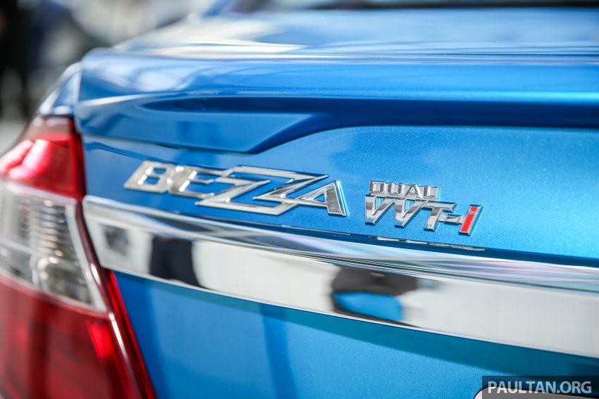 Perodua Bezza dilancarkan, enjin 1.0L VVT-i dan 1.3L Dual VVT-i, harga bermula dari RM37K hingga RM51K Image #522705