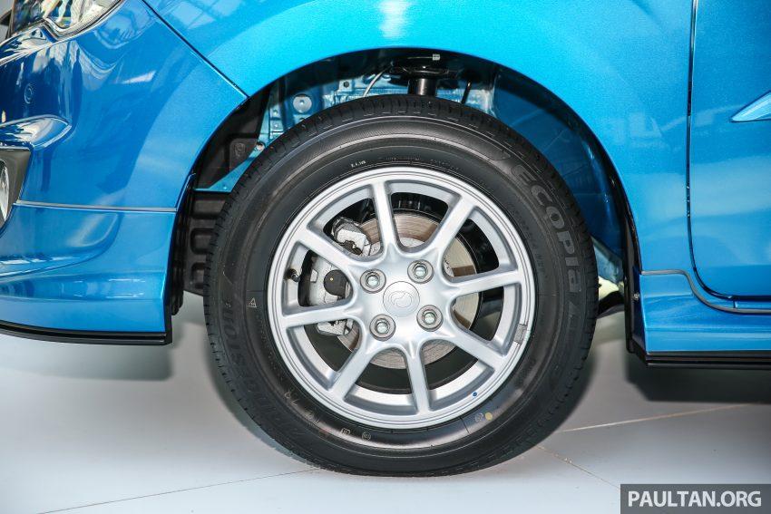 Perodua Bezza dilancarkan, enjin 1.0L VVT-i dan 1.3L Dual VVT-i, harga bermula dari RM37K hingga RM51K Image #522698