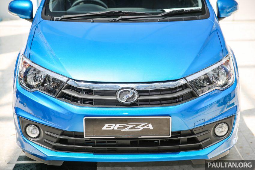 Perodua Bezza – senarai elemen varian demi varian Image #519944