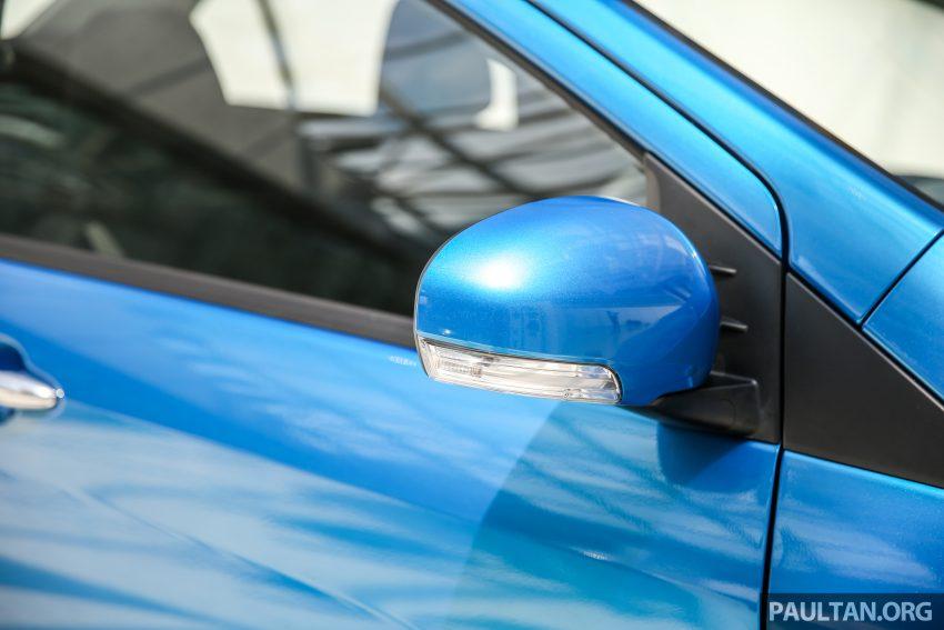 Perodua Bezza – senarai elemen varian demi varian Image #519962